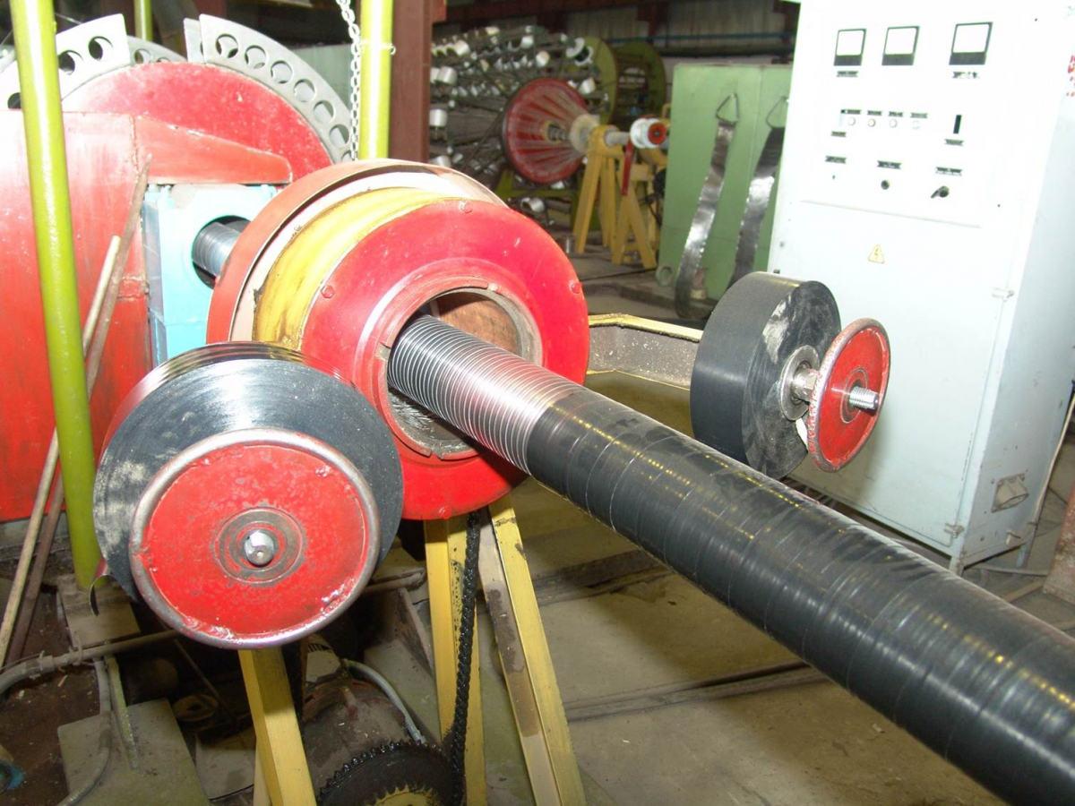 Конструкция гибких труб «Поликорд»